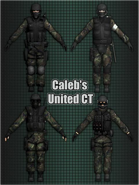 Групповой скин СТ -Caleb`s united CT pack