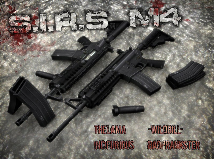 m4a1 - Aimable S.I.R.S. M4:Css