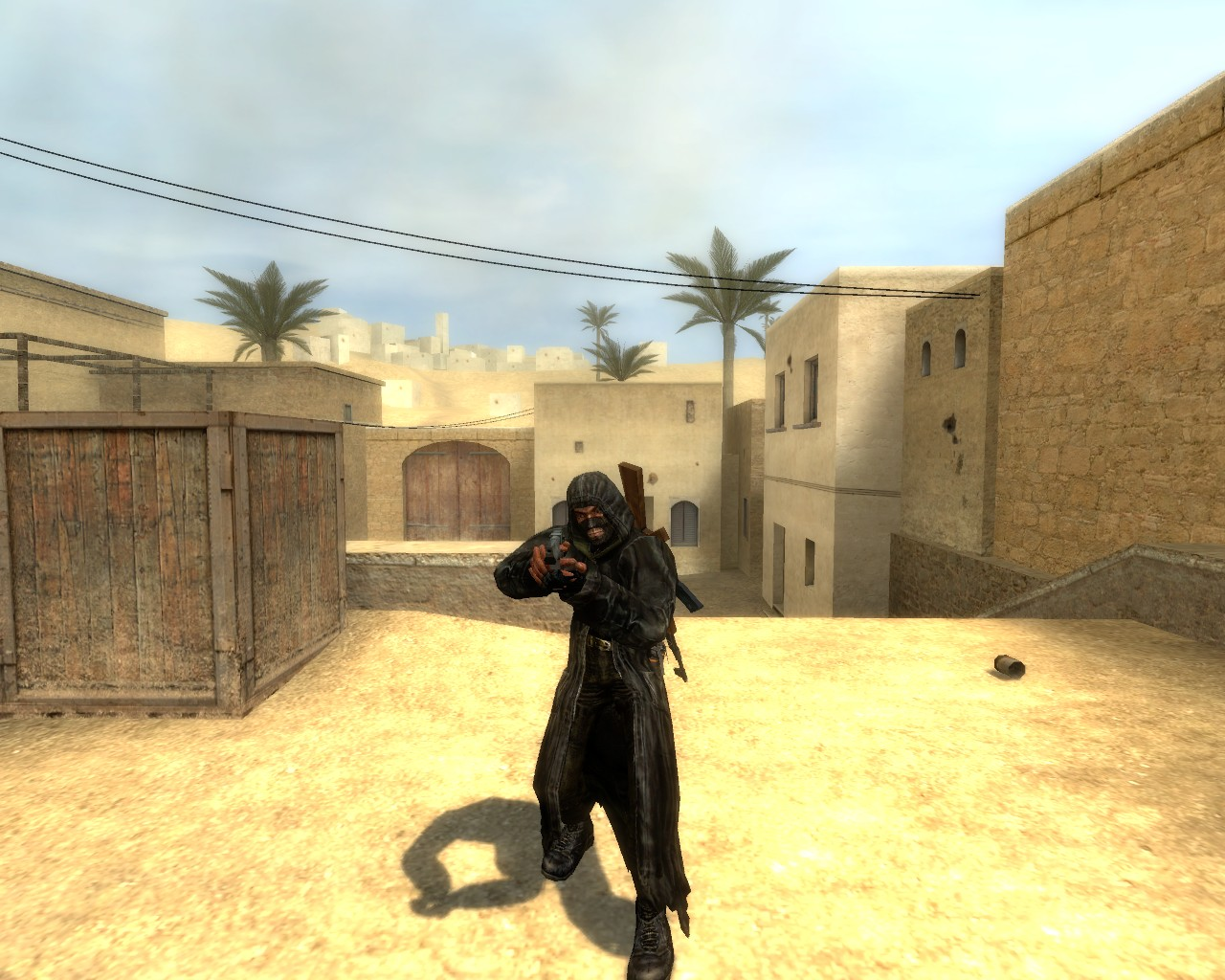 Скин из игры Сталкер (Bandit cloaks from S.T.A.L.K.E.R.)