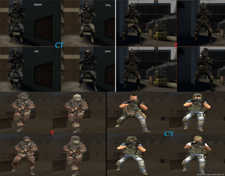 Модели игроков для Ксс В34